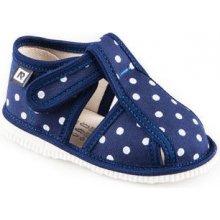 RAK Detské papuče 1-100015 Modrá bodka