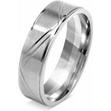 Silvego Snubný prsteň pre mužov a ženy z chirurgickej ocele RRC0465 efb5ce9acb6