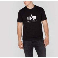 Alpha Industries Basic Body T Black tričko pánske