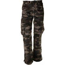 Pánske zateplené nohavice loshan Alan maskáčové šedé
