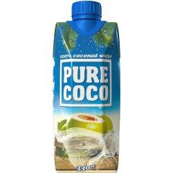 Pure Coco Kokosová voda 100% 330ml