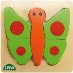 LENA 32067 puzzle motýl