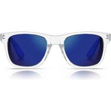 Sunmania zrkadlové Wayfarer 091 modré
