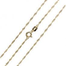 Brilio Luxusné retiazka zo žltého zlata 271 115 00181