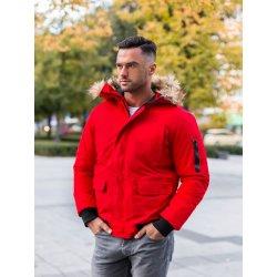 Filtrovanie ponúk pánska zimná bunda s kapucňou a hnedou kožušinou ... 1a40f648c10