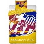 Jerry Fabrics obliečky FC Barcelona yellow bavlna 140x200 70x90