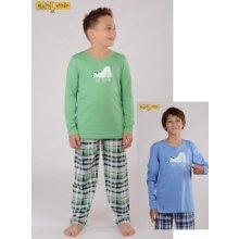 Spiaci biely medveď - detské pyžamo dlhé