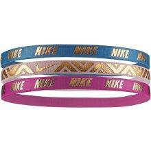 Nike METALLIC HAIRBANDS 3 PACK N.JN.G8.457.OS 7769c5259f