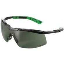 Univet 5X6, čierno-zelený rám, zelené sklá s povrchovou vrstvou proti poškriabaniu a zahmlievaniu, UV400, na šo
