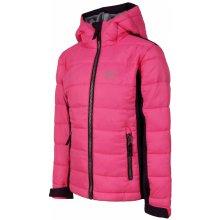 Alpine Pro chlapčenská bunda Wiliso - ružová