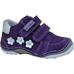 ab34fd31b54c Protetika Dievčenské členkové topánky barefoot Maty fialové ...