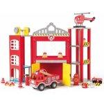 WOODY Veľká hasičská stanica s autíčkami