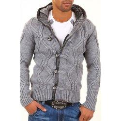 b0e90370e18c Carisma pánsky pletený sveter s kapucňou grey alternatívy - Heureka.sk