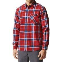 5b0c8c1b8eb2 Adidas AO Men Checker Moss LS Shirt AI2208