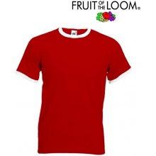 Fruit of the Loom RINGER Red White