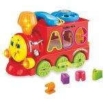Baby Mix Dětská edukační hračka vláček