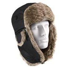 7e0808c16 Zimné čiapky Zimná baranica čierna - Heureka.sk