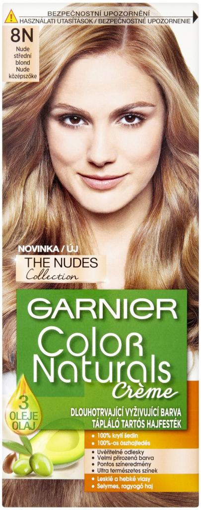 Farba Na Vlasy Garnier Color Naturals Creme 8n Nude Stredni Blond