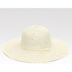 4773acc71 Elegantný slamený klobúk Almeria biely alternatívy - Heureka.sk