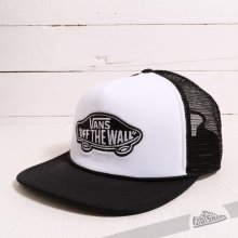 Vans Classic Patch Trucker šiltovka White/Black