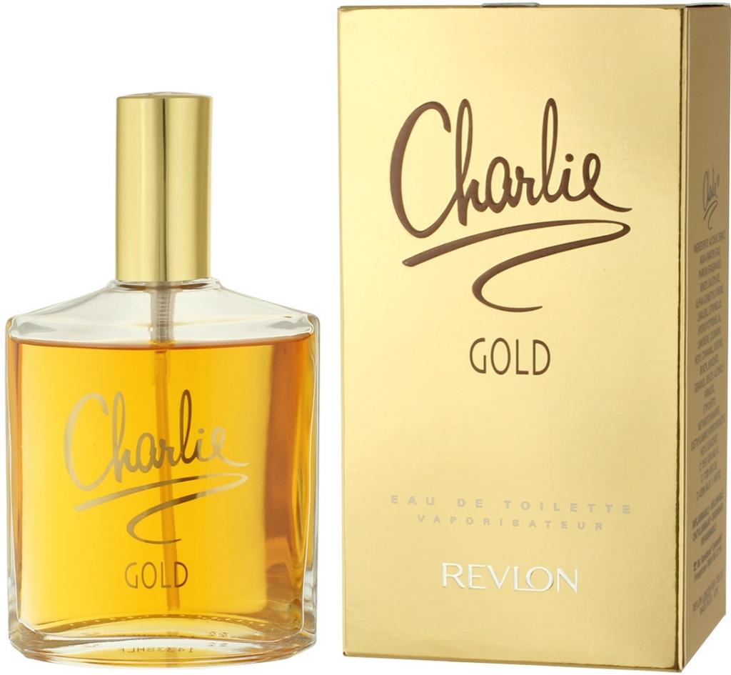 d2bd1e97ae Revlon Charlie Gold toaletná voda dámska 100 ml