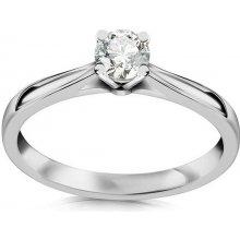 iZlato Forever Zásnubný prsteň s 0.211ct ct Si2 E diamantom Estelle large  white CSBR38A 4820ee2af77