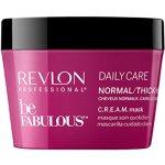 Revlon Be Fabulous Maska pre normálne až silné vlasy 200 ml