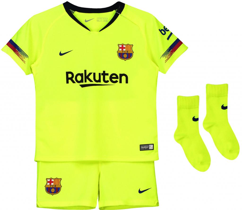 a178e46c605c9 Nike FC Barcelona set detský 2018-19 vonkajší + meno a číslo od 59,99 € -  Heureka.sk