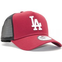 New Era A Frame Trucker League Essential Los Angeles Dodgers 9FORTY AFRAME  TRUCKER Cardinal White 238b69c223