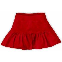 b00ac82a995f Dievčenská bavlnená suknička červená od 9