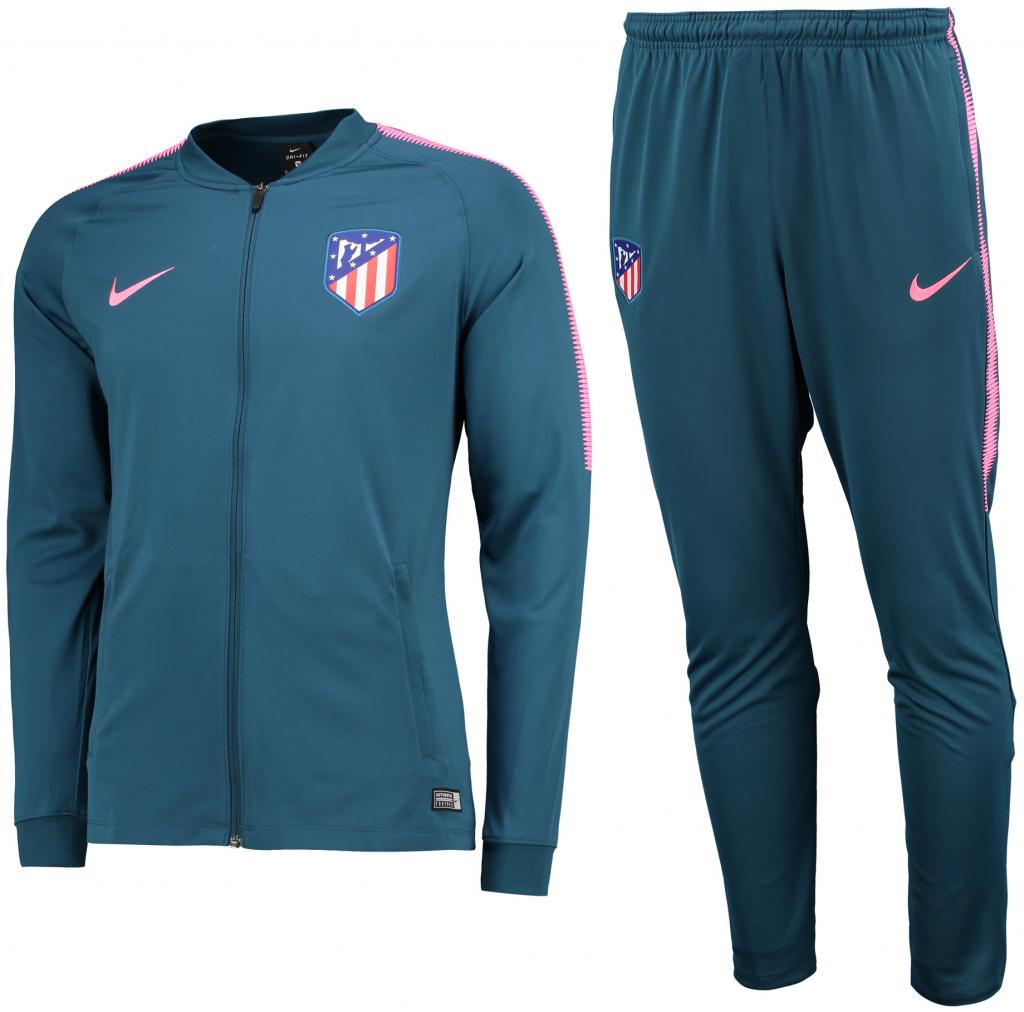 7478500c6cd5f Futbalový dres Nike Atlético Madrid súprava pánska bunda + nohavice ...