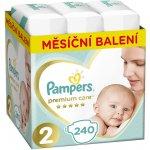 Pampers Premium Care 2 MINI 3-6 kg 240 ks