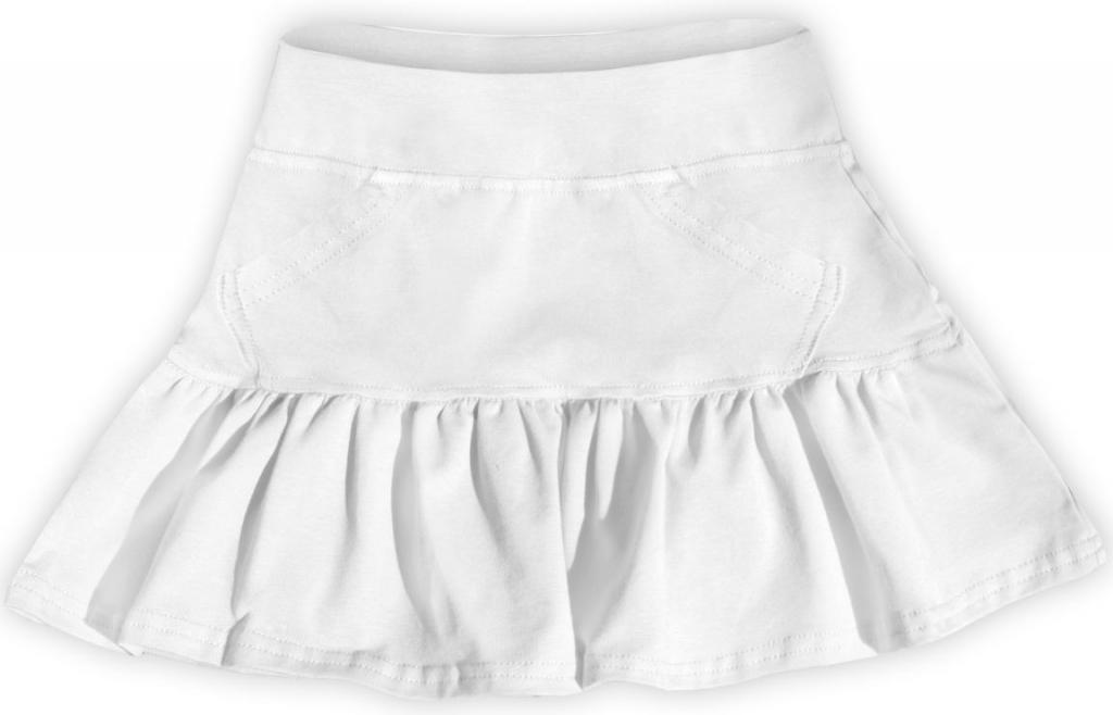 8e74e116ad99 Dojčenské šatôčky a sukňa Dievčenská bavlnená suknička biela ...