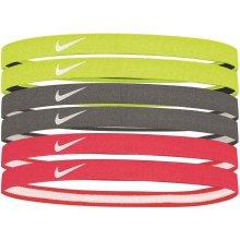 Nike swoosh sport headbands VOLT COOL GREY HOT PUNCH 17cd0c09f6