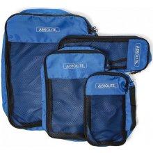Aerolite PC001 Blue sada cestovních organizérů modrá