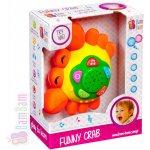 Bam Bam krab dětský baby projektor s ukolébavkou hvězdná obloha