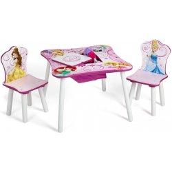 8cd0f996098d FORCLAIRE Detský stolík so stoličkami Princess alternatívy - Heureka.sk