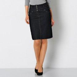 aab64f72cf5b Blancheporte džínsová sukňa s vysokým pásom čierna alternatívy ...