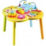 Baby Mix drevený edukačný stolík