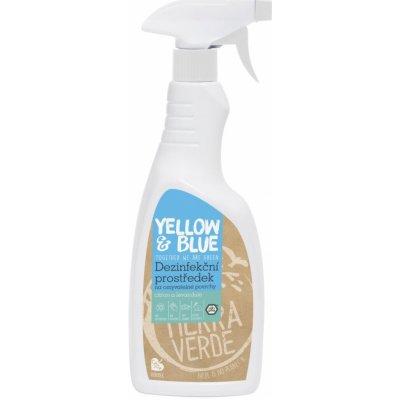 Tierra Verde Dezinfekční prostředek na omyvatelné povrchy s citronovou a levandulovou silicí 0,75 l