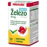 Walmark Železo 20 mg 30 tabliet