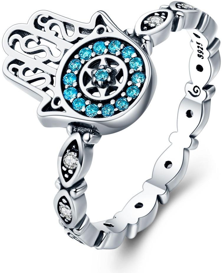 56cb162bb Prsteň Royal Fashion prsten Hamsa symbol ochrany SCR369 ...