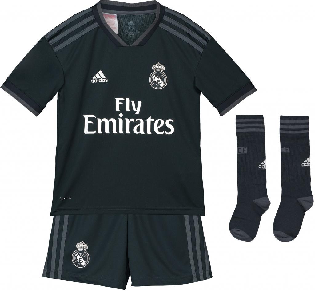 958ad2755777e Adidas Real Madrid set detský 2018-2019 vonkajší + vlastné meno a číslo