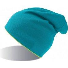 007addbb8 Obojstranná strečová čiapka ATLANTIS EXTREME tyrksovo-zelená