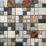 Premium Mosaic Stone Mozaika kamenná mix farieb 4,8x2,3 cm