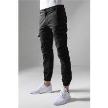9fd0889c97f9 Nohavice Urban Classics Washed Cargo Twill Jogging Pants Black