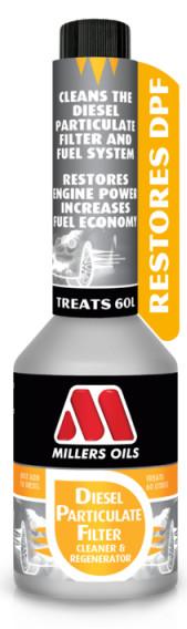 Millers Oils DPF Cleaner & Regenerator 250 ml - 0