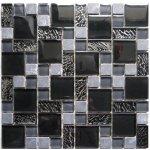 MOSAGRES MKS483 Mozaika 30 x 30 sklo kámen