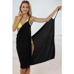 9567c12996b0 Plážové zavinovacie šaty čierna alternatívy - Heureka.sk