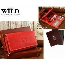 13c153968 Wild dámska kožená Always N22-MH červená peňaženka alternatívy ...